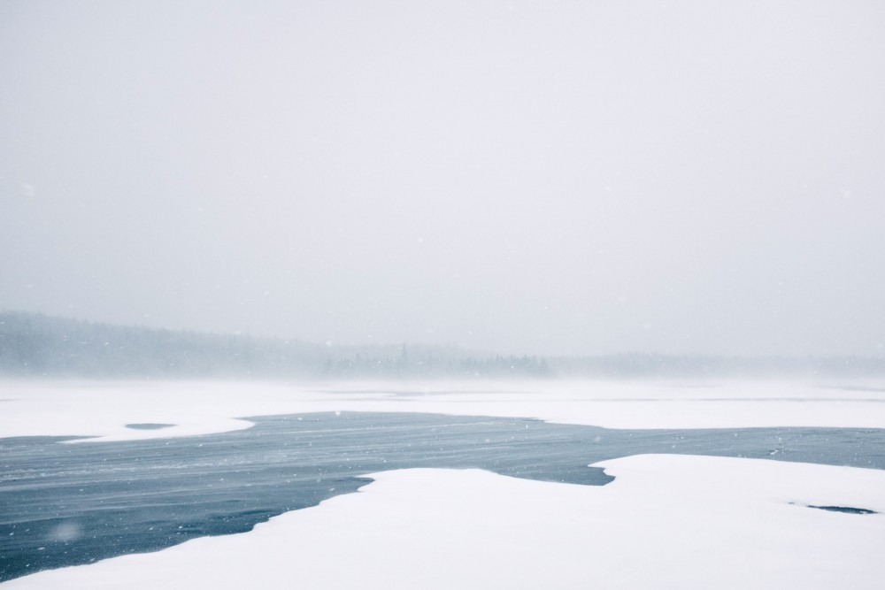 Frozen Waters at the Lake