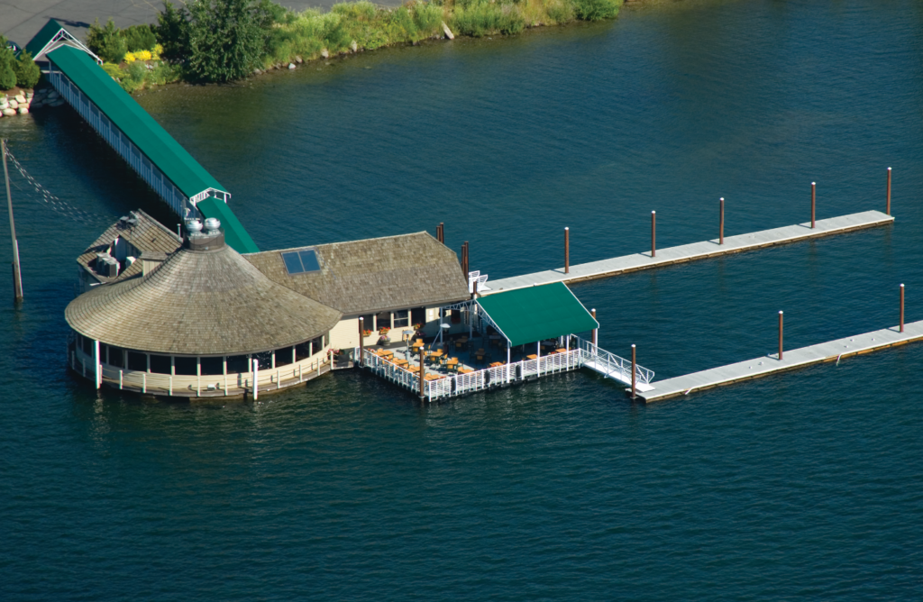 Cedars Floating Restaurant at the Coeur d'Alene Resort