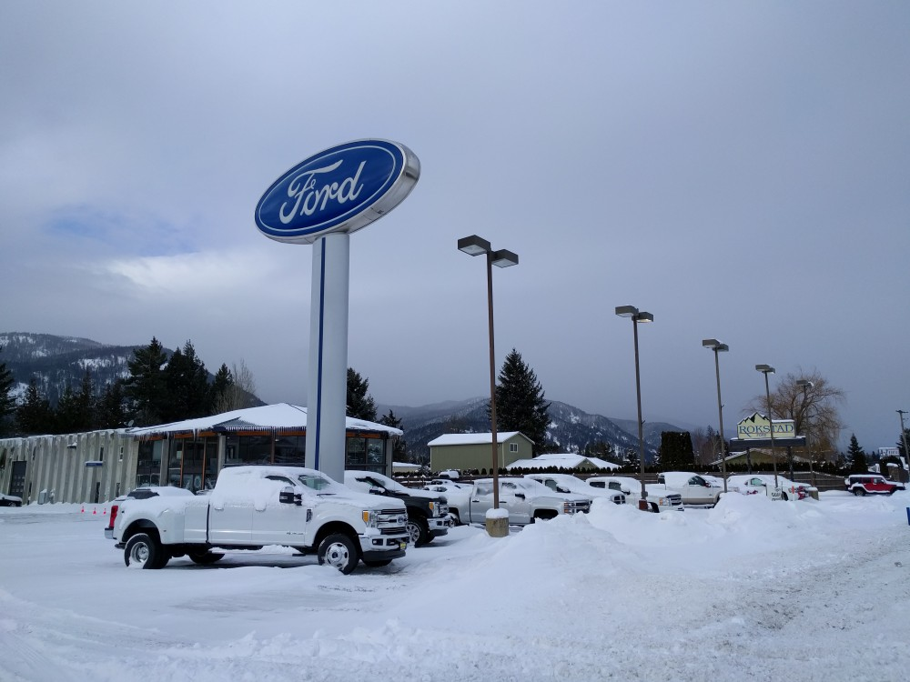 Rokstad Ford in Ponderay