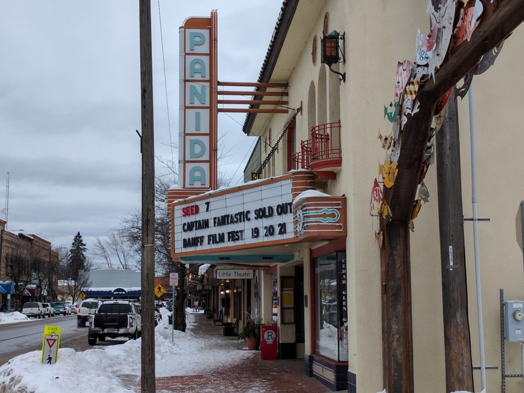 Panida Theater in downtown Sandpoint, Idaho