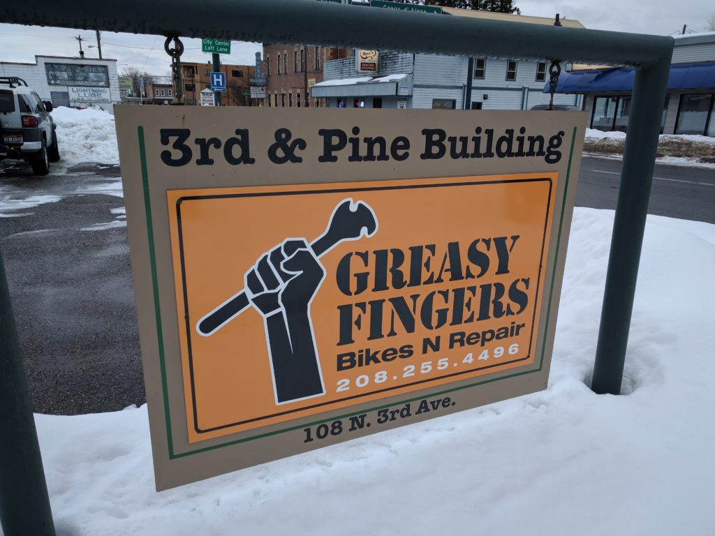 Greasy Fingers in Sandpoint
