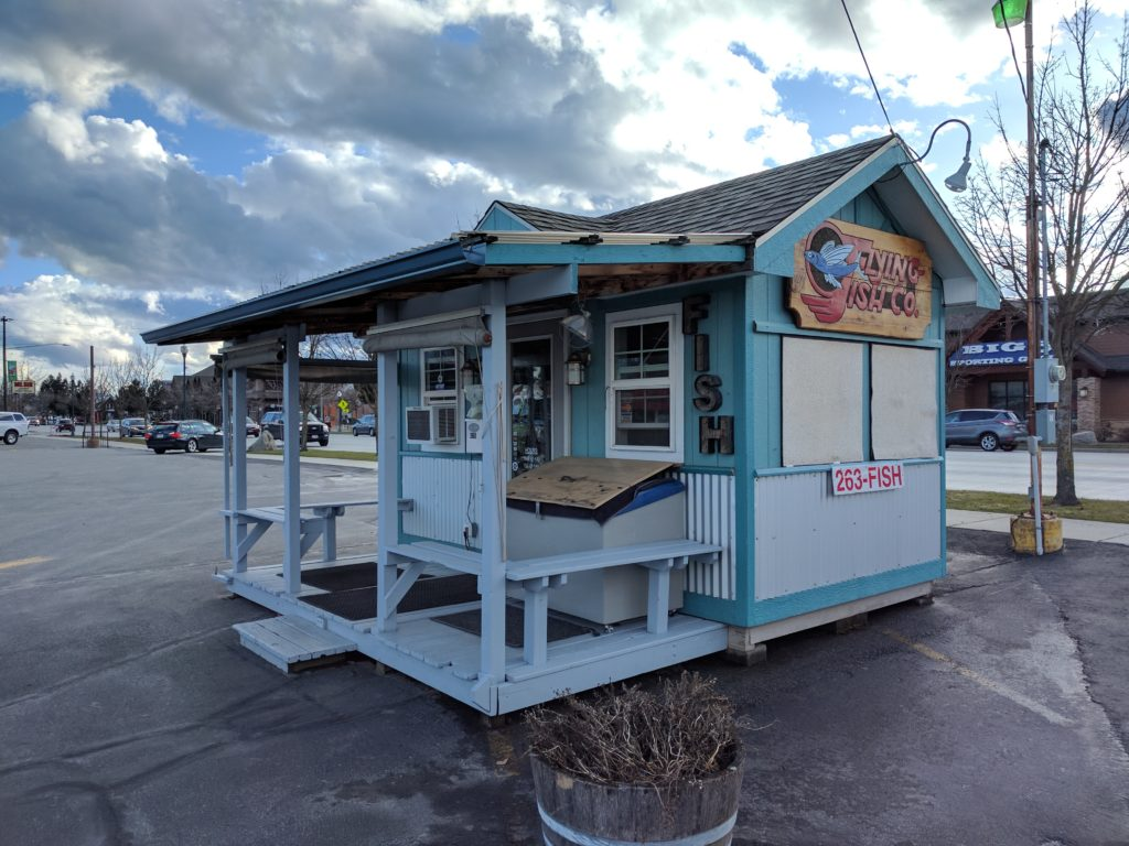 Flying Fish Company in Sandpoint