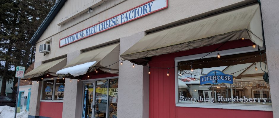 Litehouse Blue Cheese Factory in Sandpoint
