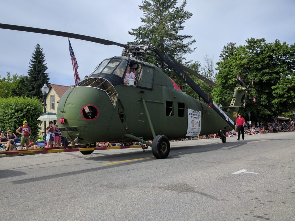 4th of July Parade Helecopter
